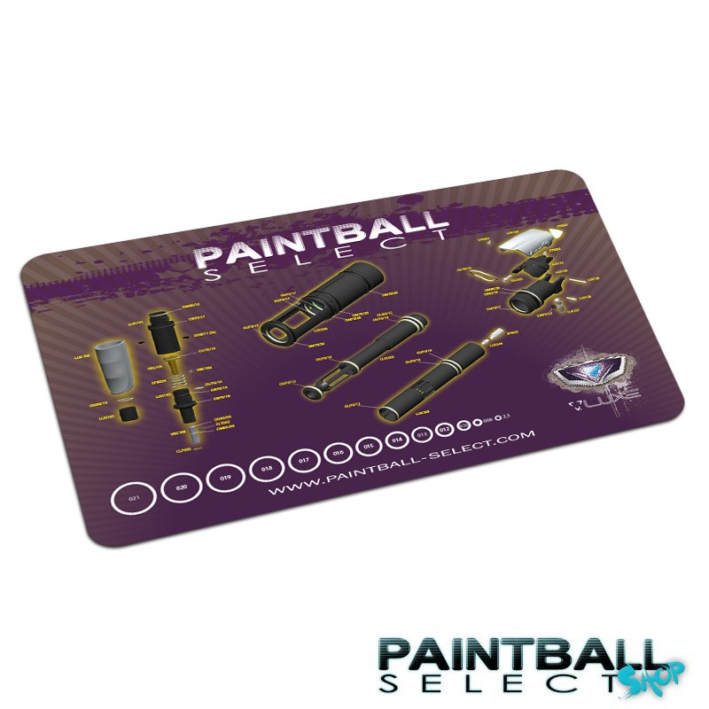 tapis de tech luxe paintball select shop. Black Bedroom Furniture Sets. Home Design Ideas