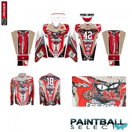 Jersey PRO full sublimation Paintball Select Custom
