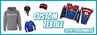 Customisation Textile personnalisé by Paintball Select