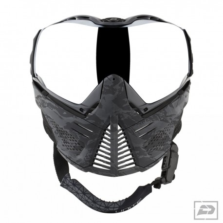 Masque Push black camo red