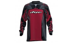 Jersey DYE Core airstrike gray red