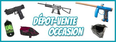 Le dépot-vente Paintball Select